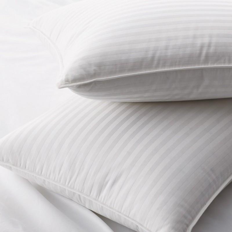 Подушки белой утки 90% вниз с тканью картины нашивки штофа 1cm