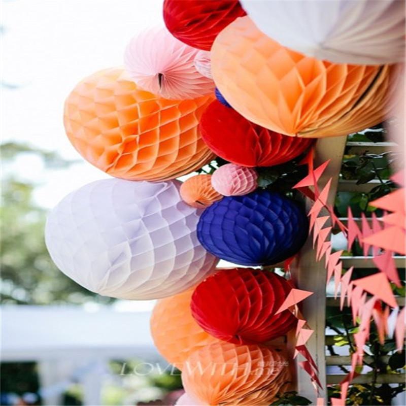 Наборы для декорации для вечеринок, в том числе цветок папиросной бумаги, круглый вырезанный на день рождения веер