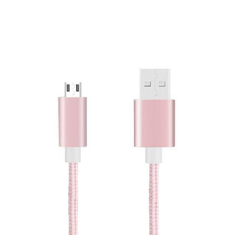 Микро-кабель с нейлоновой оплеткой для зарядки USB