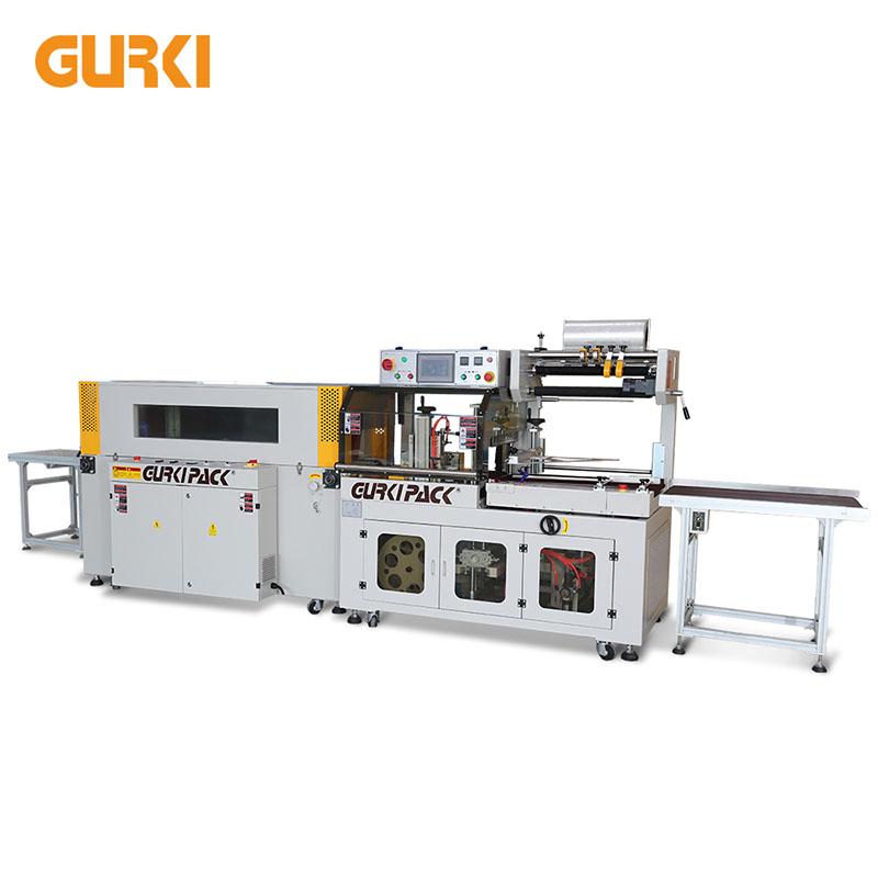 Автоматическая термоусадочная машина до 40 шт / мин | GPL-5545C + GPS-5030LW