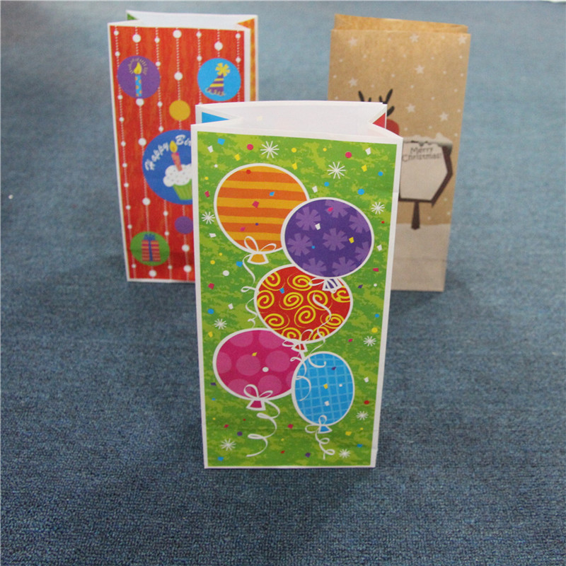 Полиграфический дизайн Бумажный пакет Маленькие подарочные пакеты Крафт Материал для упаковки сумки