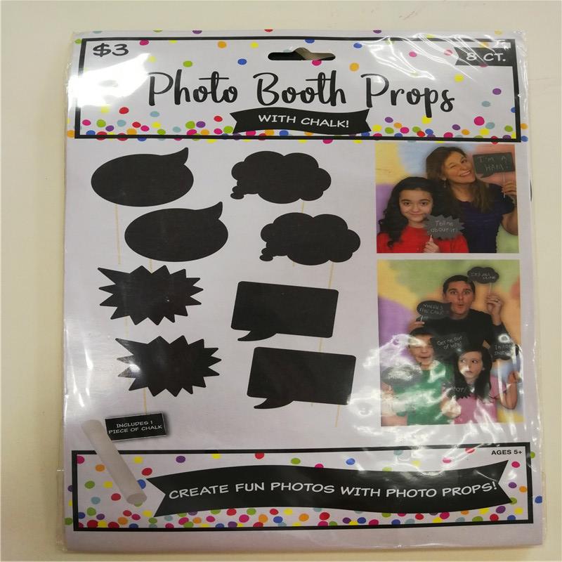 Dance Party Prom Favor Kits Комплекты для фотокамен с мелом