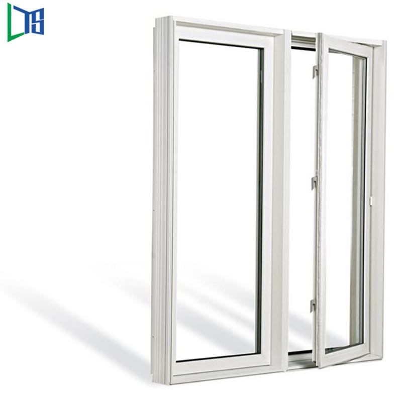 Алюминиевые створчатые окна, распашные, с порошковым покрытием