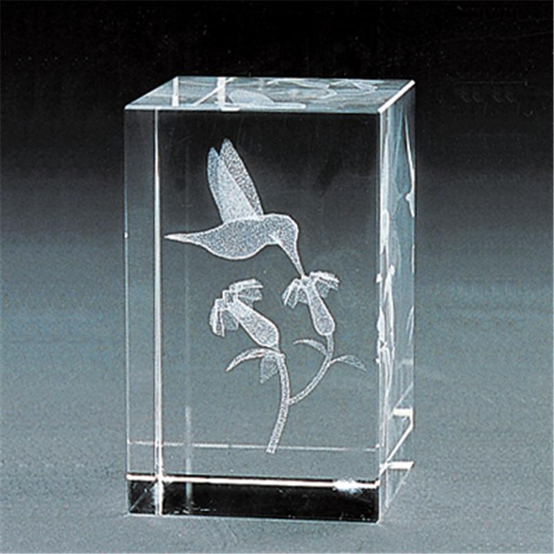 3D Кристаллическая внутренняя гравировка