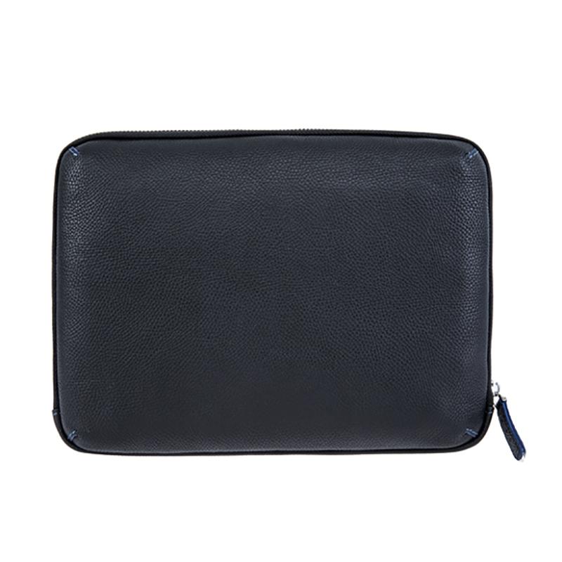 18SG-6831F Мягкая Личи Текстура Мужская Сумка Кожаная Сумка Компактный наручный чехол Организатор сумка для мужчин