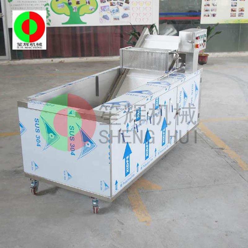 Машина для мойки фруктов и овощей решает проблему очистки овощей и фруктов