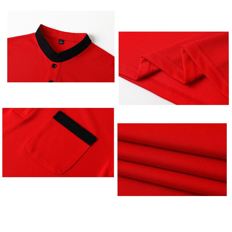# 1901-Рубашка с воротником-стойкой