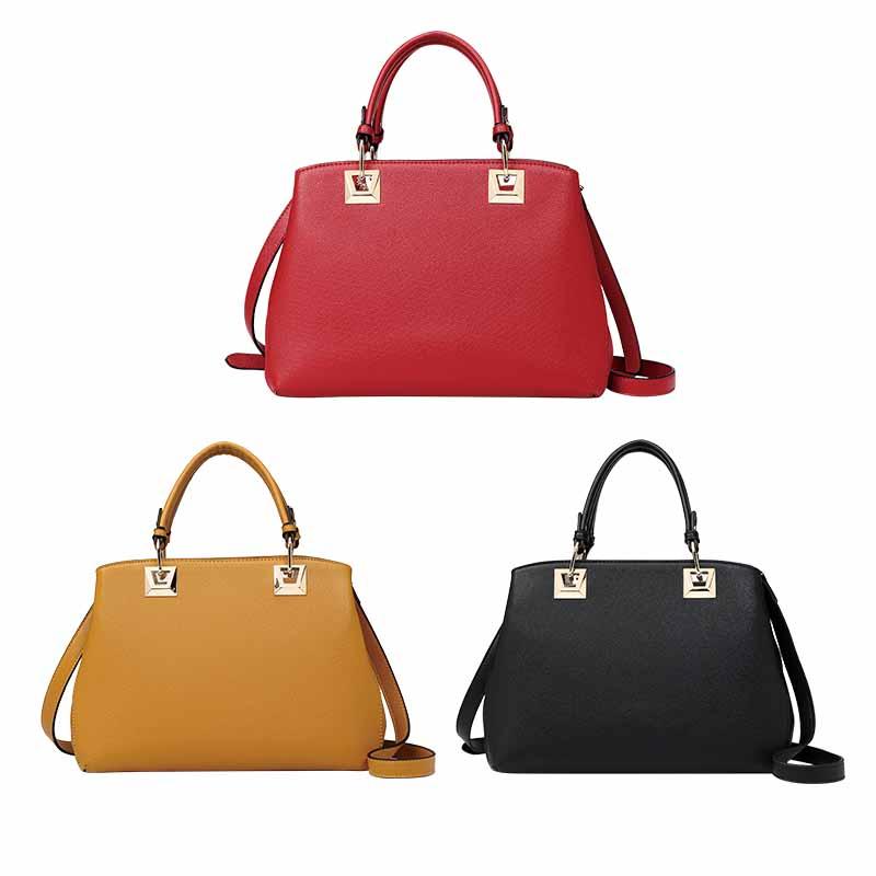 Популярная женская модная сумка из искусственной кожи-HZLSHB008