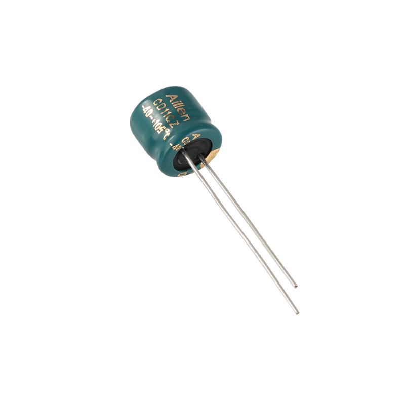 Вставной алюминиевый электролитический конденсатор CD11EZ