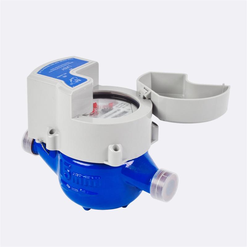 Фотоэлектрический счетчик воды с прямым считыванием