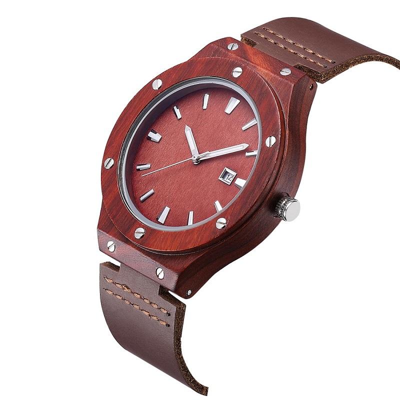 Наручные деревянные часы и лучшие кожаные наручные часы для влюбленных