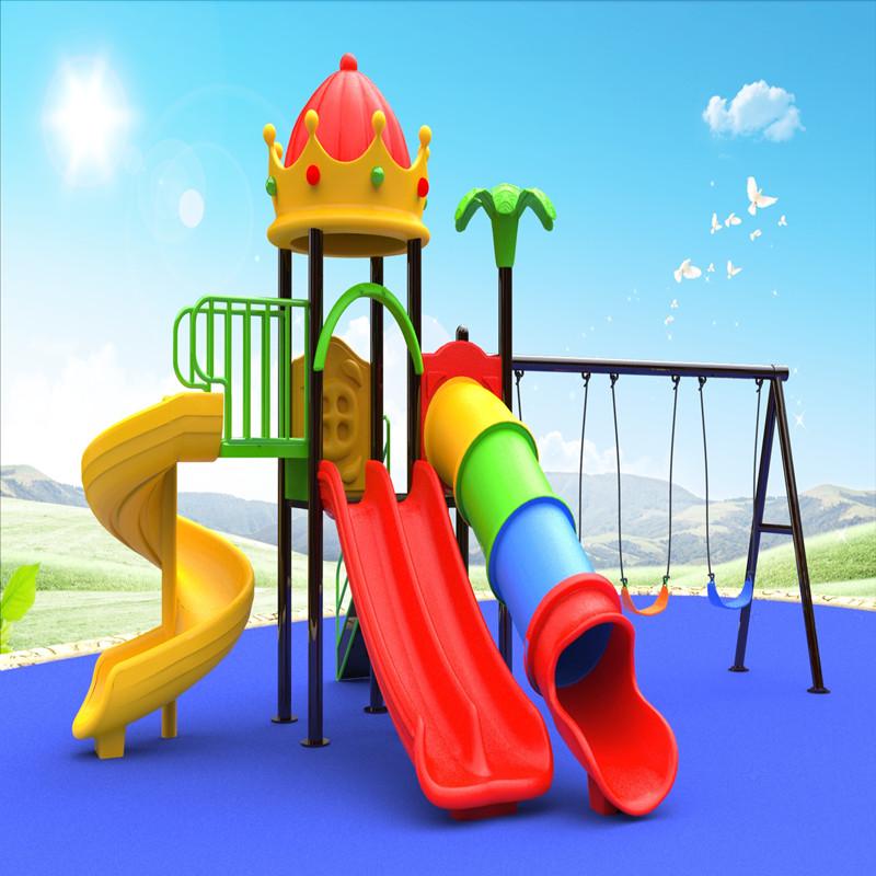 открытый корона крыша игровой дом игровое оборудование с детьми качели слайд игра для детей