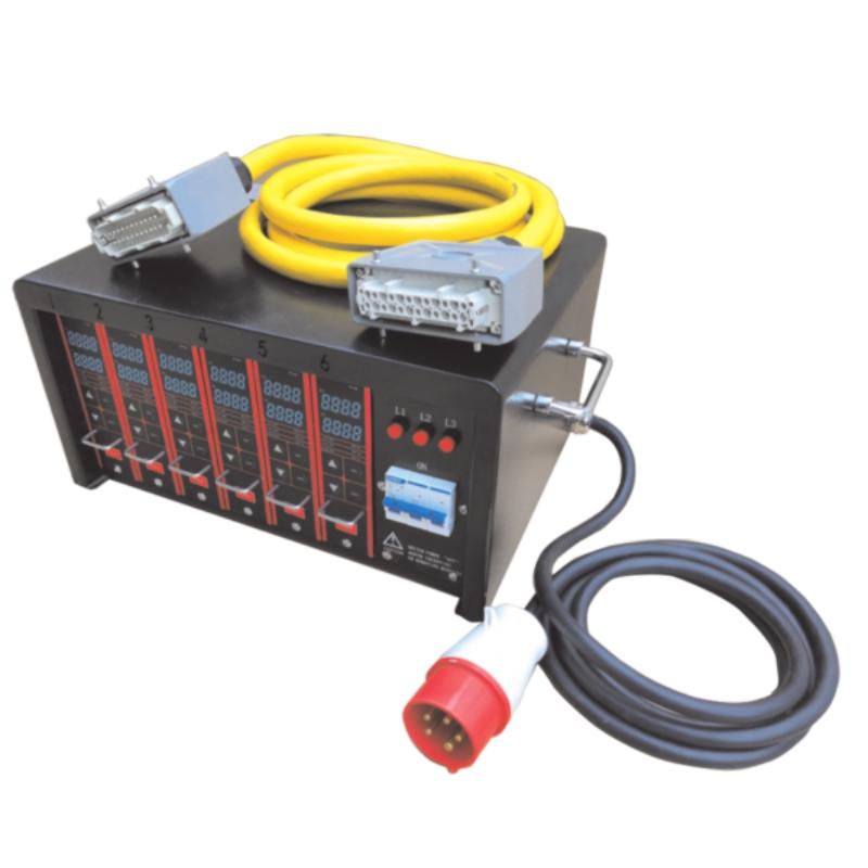 Блок контроля температуры горячеканальной системы