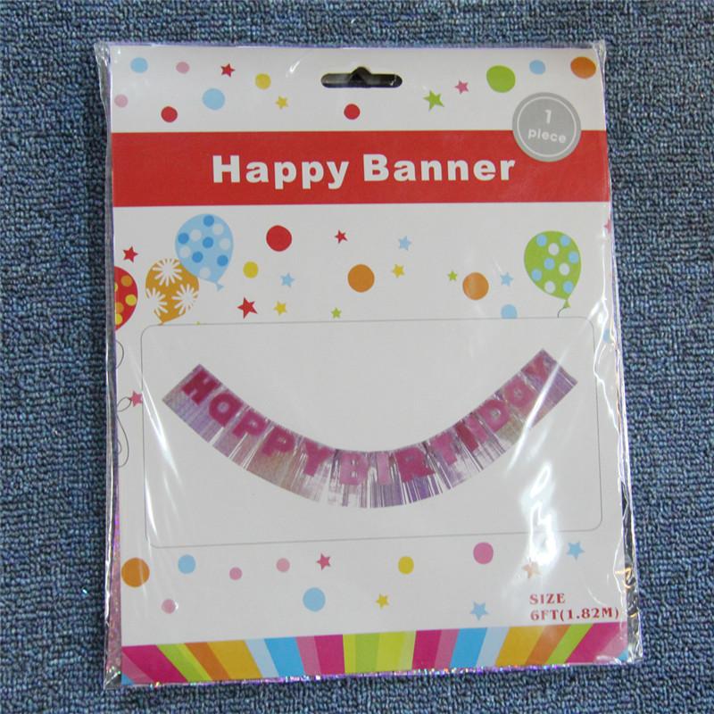 флаг, украшенный на вечеринках для детей и взрослых с днем рождения