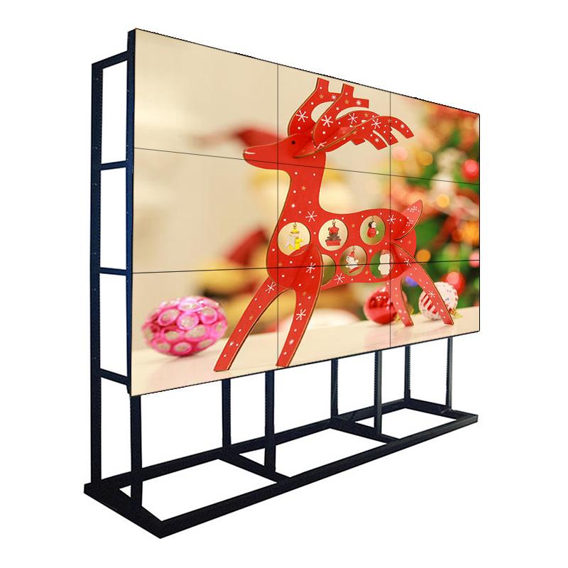 55-дюймовый 1,7-миллиметровый ободок 500 NIT ЖК-монитор Samsung для видеостен с дисплеем для командного центра, торгового центра и сети магазинов