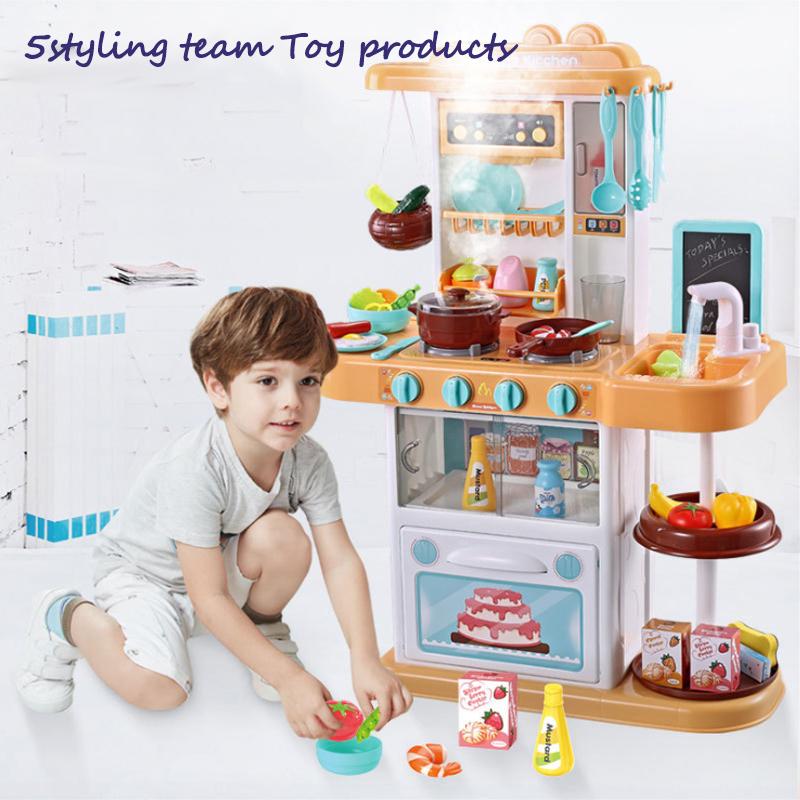 Трансграничное детское спрей кухонные игрушки, домашнее приготовление, приготовление пищи, приготовление пищи, мальчики и девочки