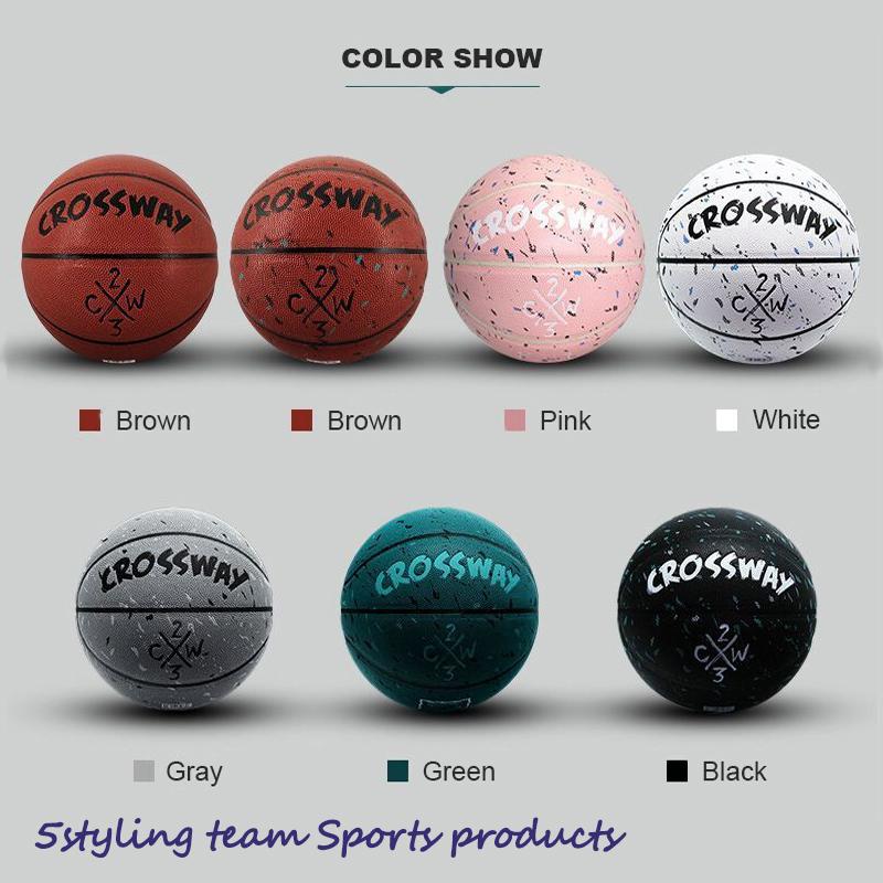 Производитель Clossway баскетбол 5 № 7 Pu поглощение влаги в помещении и на открытом воздухе для взрослых соревнования по обучению баскетбол персонализированные настройки