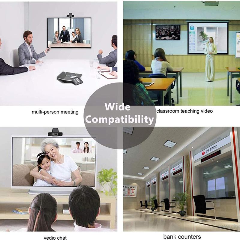 высокая очистка 1080P компьютерная веб - камера рабочий стол можно вращать USB 2.0 камера с цифровым микрофоном