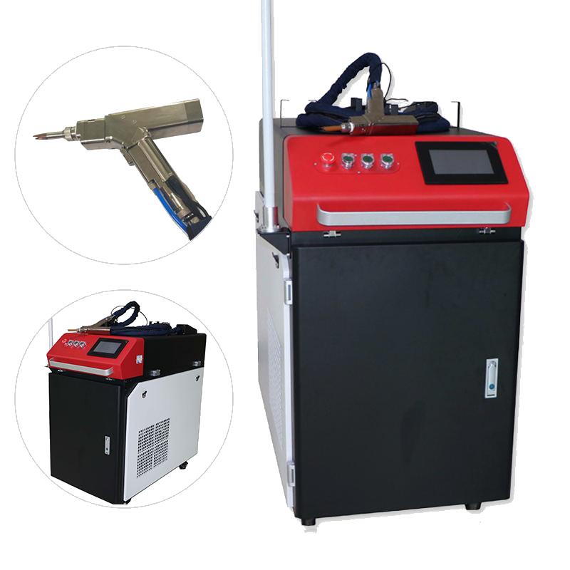 С Wobble Head ручной высококачественный автоматический волоконный лазерный сварочный аппарат для нержавеющей стали, железа, алюминия, меди, латуни