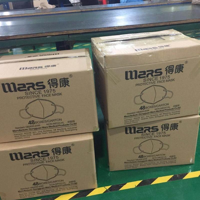 Китайская маска Mars N95 с сертификатами Niosh FDA CE