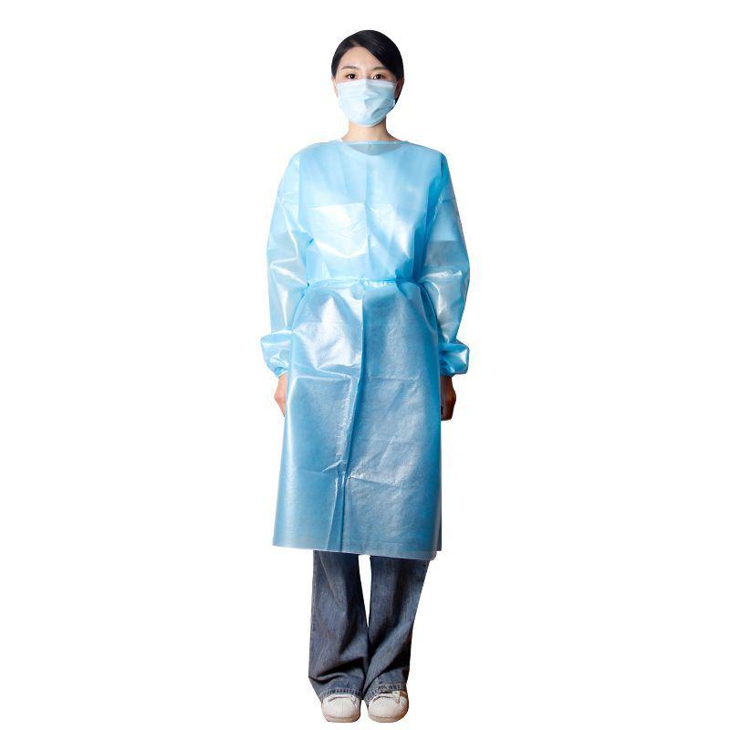 одноразовый изоляционный костюм PP + PE